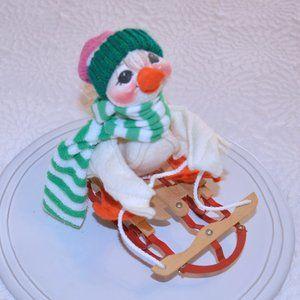 Vintage Annalee Sleigh Ride Duck